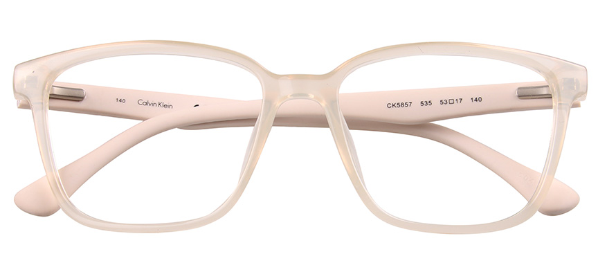 calvin klein clear glasses