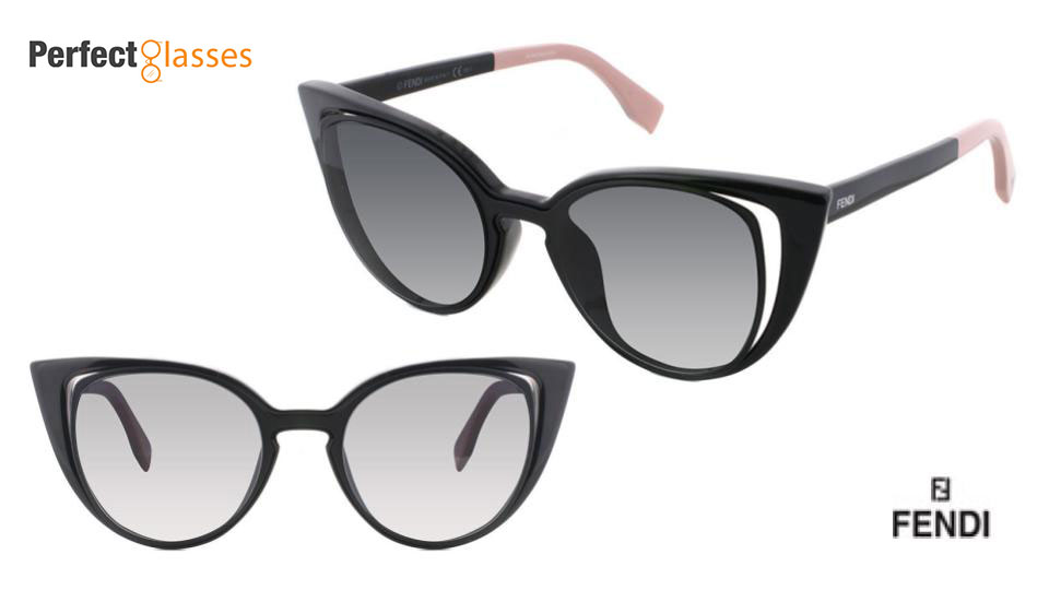fendi cateye style sunglasses