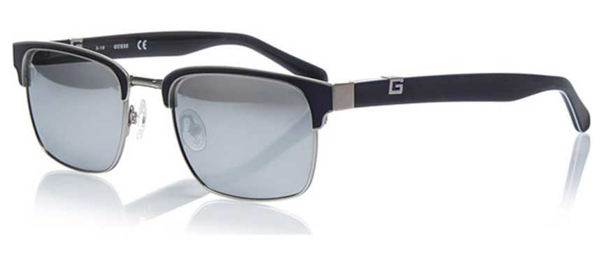 semi-rimmed prescription sunglasses