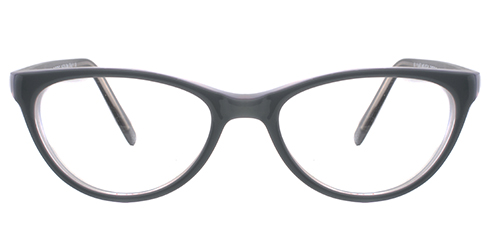 Buy Colourful Spectacles & Frames Online: Cat Eye M15 GRY