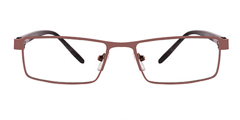 Brown Frames Online: English Stripe 8805 BROWN
