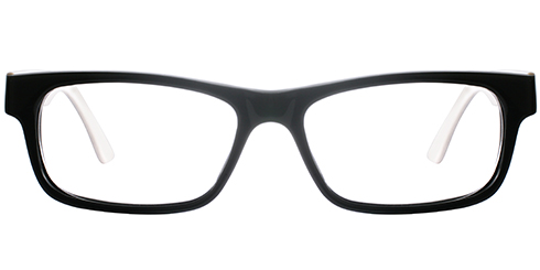 Buy Frames Between £31 to £40 - Ready M 1003 BLK WHT