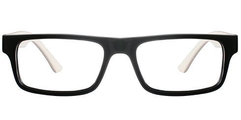 Buy Frames Between £26 to £30 - Ready M 1026 BLK WHT