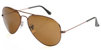 Brown Frames Online: Aviator 2013  3025 R1072
