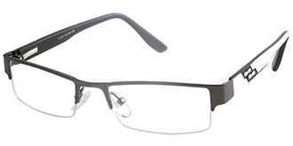 Buy Frames Between £71 to £100 - CTRL 71052 GUNM WH