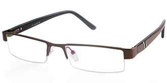 Brown Frames Online: Jimmy 171 BRN