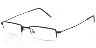 Buy Frames Between £71 to £100 - PG Collection S1003 BRN