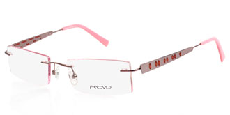 Buy Frames Between £71 to £100 - Provo PR6052 PINK