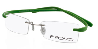 Buy Frames Between �41 to �50 - Provo PR725 GUNM LT GRN