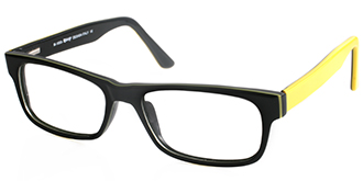 Buy Frames Between £41 to £50 - Ready M 1003 BLK YLW