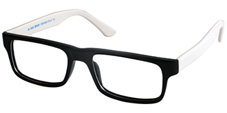Buy Frames Between £41 to £50 - Ready M 1026 BLK WHT