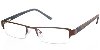 Brown Frames Online: Rock 164 BRN