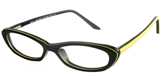 Black Frames Online: The Cat Eye M10 BLACK