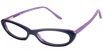 Blue Frames Online: The Cat Eye M10 BLU