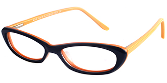 Buy Colourful Spectacles & Frames Online: The Cat Eye M10 DK BLU