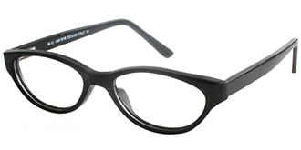 Black Frames Online: The Cat Eye M12 BLK
